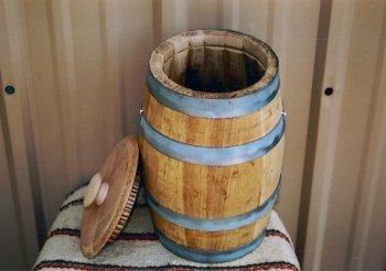 White Oak Water Barrels