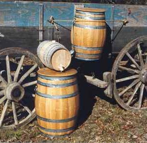 White Oak Water Barrels